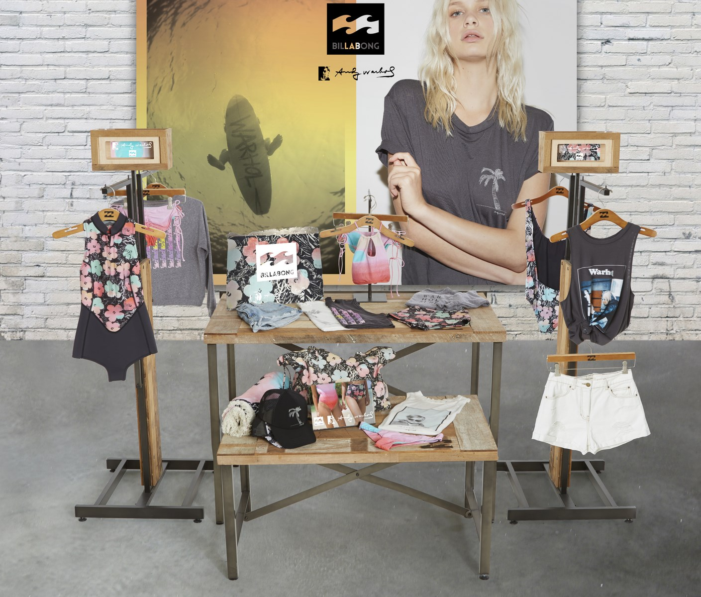 billabong-x-andy-warhol, warhol-surf, billabong-warhol, du-dessin-aux-podiums, dudessinauxpodiums