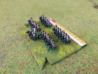 The final cavalry unit for the French army of 1815
