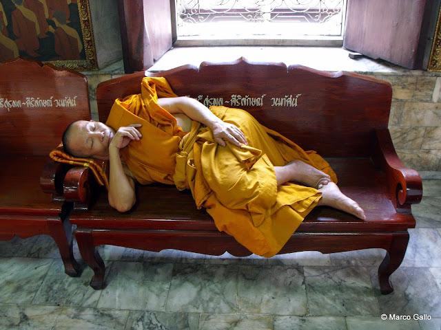 WAT CHANA SONGKHRAM. Bangkok. Tailandia.