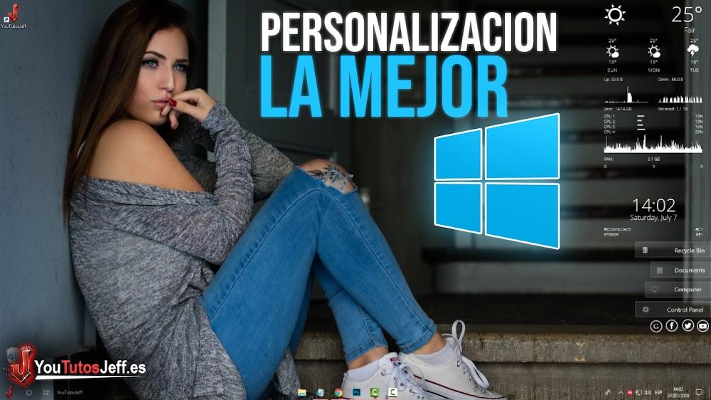 La Mejor Personalización para Windows 10 - Fácil y Rápido