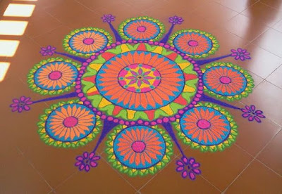 rangoli designs for competition