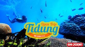 open trip dan private trip pulau tidung murah
