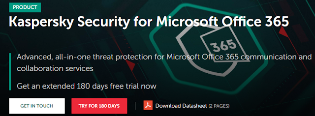 Giveaway: Kaspersky Security for Microsoft Office 365