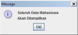 Kelas Informatika - Notifikasi Tampil Data Mahasiswa
