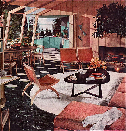 Retropedia A look at style and design through time: Atomic Age Design Beauty and The Bomb - 1950s Interior Design And Decorating Style 7 Major Trends RetroRenovation