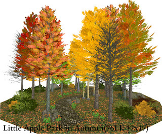Little Apple Park in Autumn