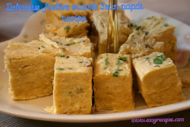 Soan papdi recipe delicious festive sweets at home