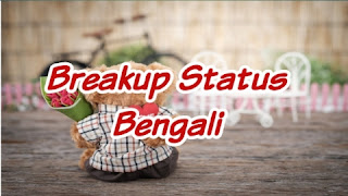 Breakup Status in Bengali For Girlfriend-Breakup Shayari in Bengali For GF,BF [2021]
