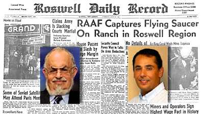 Roswell UFO Crash: Friedman vs Carrion