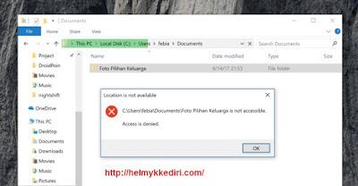 Cara Mengunci Folder dengan Password1