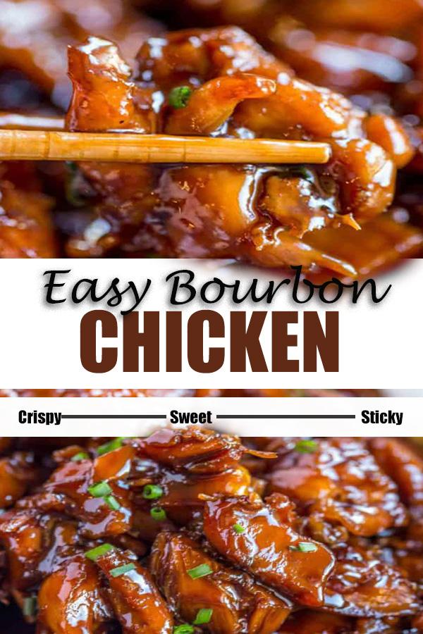 EASY BOURBON CHICKEN RECIPES