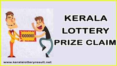 kerala lottery Prize Claim