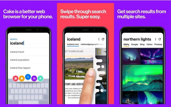best browser with VPN for android Cake