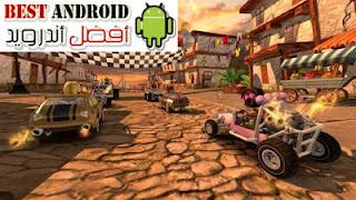 تحميل لعبة Beach Buggy Racing مهكرة للاندرويد باخر إصدار، تحميل لعبة السباق Beach Buggy Racing 2 مهكرة كاملة بدون انترنت مجاناً ، آخر وأحدث اصدار