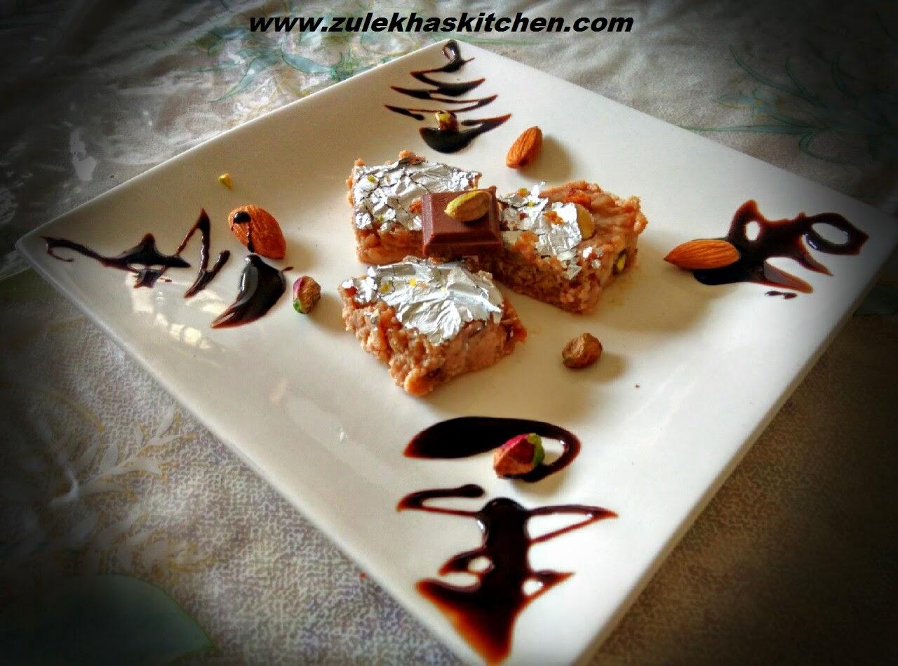 chocolate halwa