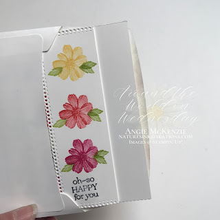 By Angie McKenzie for Around the World on Wednesday Blog Hop; Click READ or VISIT to go to my blog for details! Featuring the SALE-a-bration Delicate Dahlias Photopolymer Stamp Set with the Ornate Layer Dies found in the 2021-2022 Annual Catalog by Stampin' Up!® to create a hexagon pinwheel card; #shakethingsup #stamping #aroundtheworldonwednesdaybloghop #awowbloghop #delicatedahlias #dahlias #dahliasmakemesmile  #naturesinkspirations #hingestampingtechnique #diycrafts #makingotherssmileonecreationatatime #cardtechniques #stampinup #handmadecards #stampinupcolorcoordination #simplestamping #diecutting #papercrafts #hexagonpinwheelcard