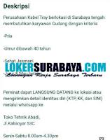 Loker Surabaya di Toko Tehnik Abadi September 2020