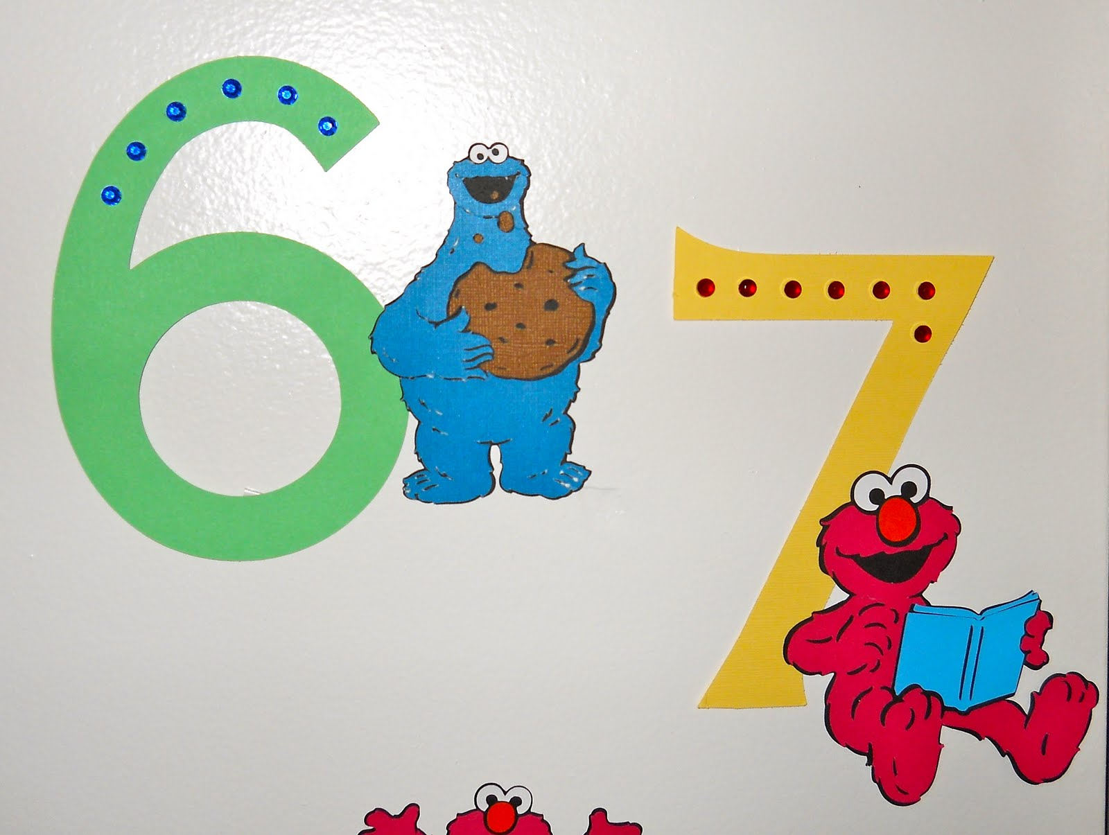 Creative Keepsakes Custom Scrapbooks Sesame Street Numbers