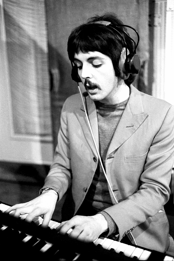 Paul In 1967 During The Recording Of Sgt Peppers Lonely Hearts Club Band