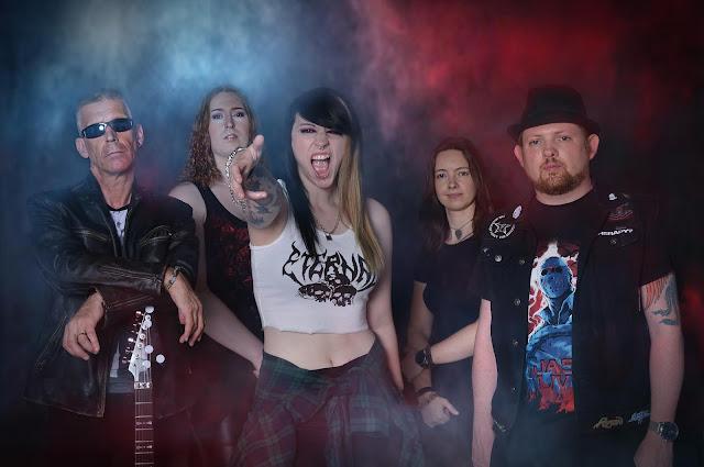 Lesbian Bed Death band photo 2021