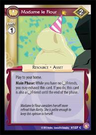 My Little Pony Madame le Flour Absolute Discord CCG Card