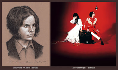 Jack White. Singer-Songwriter and Producer. The White Stripes. Elephant. by Travis Simpkins
