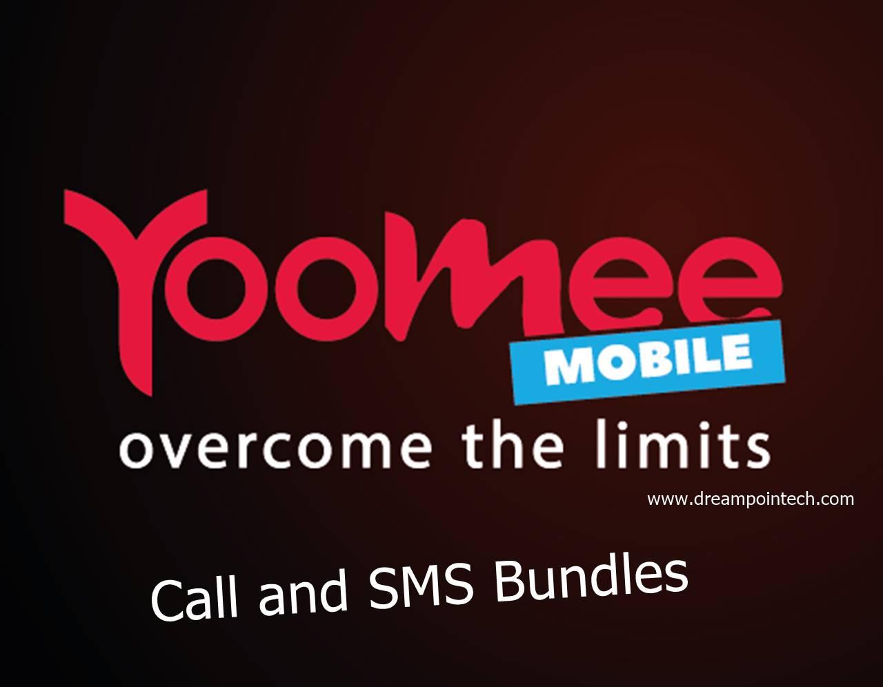 Yoomee Call and SMS Bundles