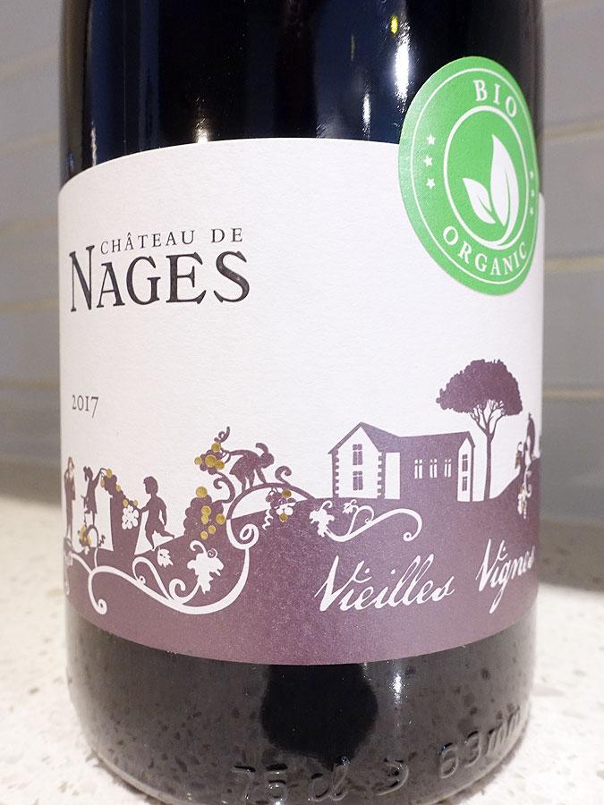 Château de Nages Vieilles Vignes Costières de Nîmes 2017 (90+ pts)