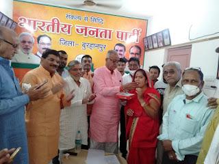 नेपानगर उपचुनाव भाजपा की सुमित्रादेवी की जीत, कांग्रेस के प्रत्याशी तीसरी बार भी हारे.?