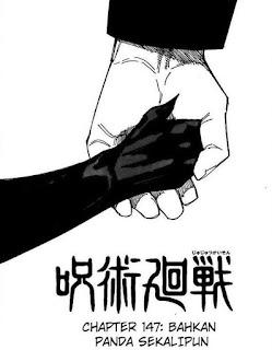 Update! Baca Manga Jujutsu Kaisen Chapter 147 Full Sub Indo