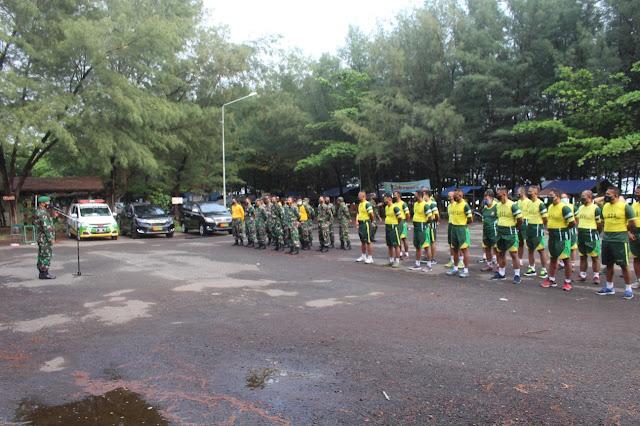 Kodim 0711/Pemalang Laksanakan Samapta Periodik II Tahun 2021 di Sirkuit Taman Pesiar Widuri