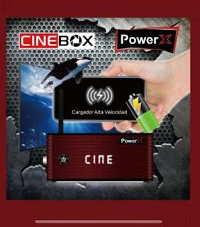 CINEBOX POWER X NOVA ATUALIZAÇÃO - 31/05
