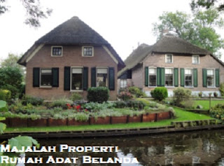 Desain Bentuk Rumah Adat Eropa dan Penjelasannya, Arsitektur Tradisional Belanda