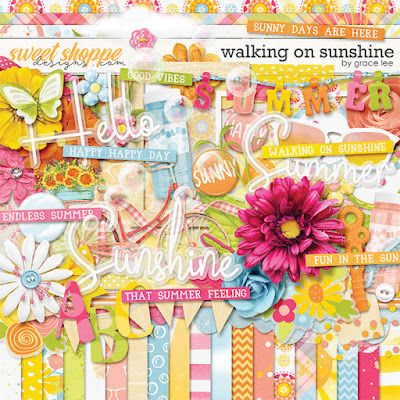 Walking on Sunshine - New from Grace Lee Designs