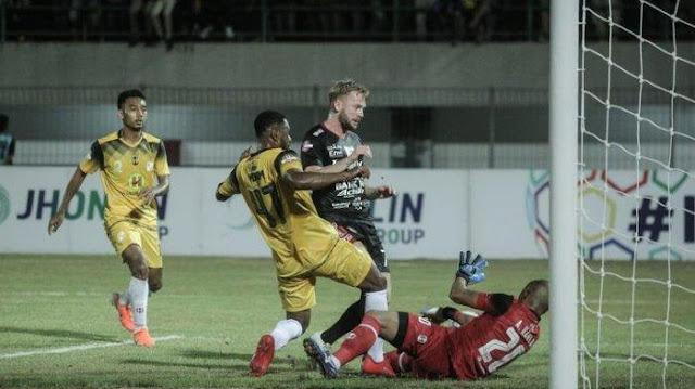 Susah Payah Barito Mendapatkan Kemenangan Pertama diLiga 1 Indonesia