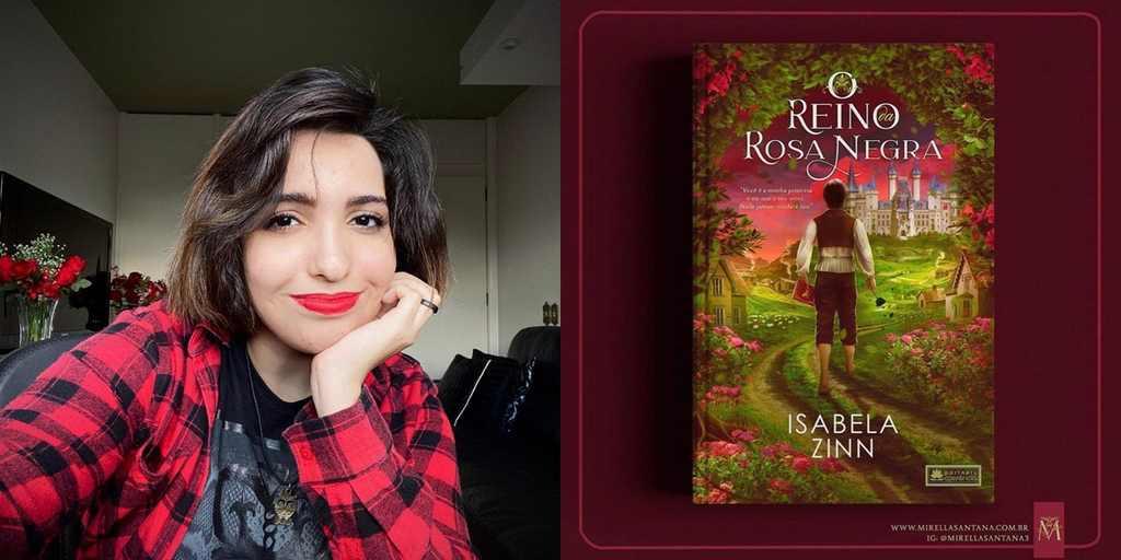 """Isabela Zinn, de 18 anos, assinou contrato com o Grupo Editorial Coerência para o lançamento de """"O reino da Rosa negra"""", seu primeiro livro. Inspirado na música Servant of Evil, a história se propõe a levantar reflexões sobre poder e ganância e será lançada nos próximos meses."""