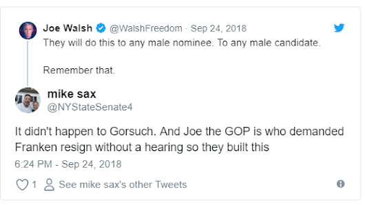 Compare Gorsuch to Kavanaugh