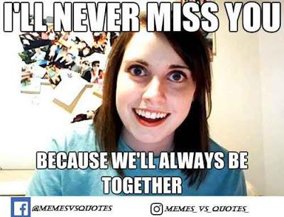 I miss you meme