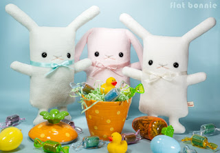 Flat-Bonnie-Easter-Bunny-Adopt-A-Plush-Baby-Bunnies