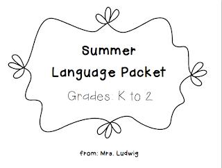 Mrs. Ludwig's Speech Room: Sweet Summertime