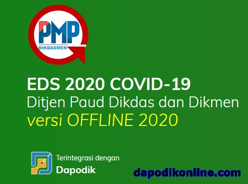 Cara Instal PMP EDS 2020 COVID19 Versi Offline