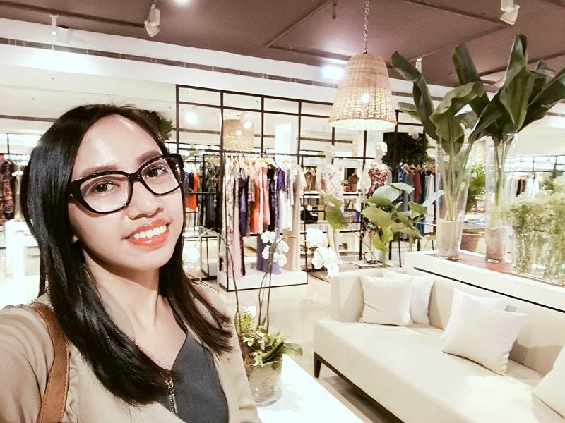 Blair Villanueva at Rustan's Makati Cabana Summer Pop-In Store