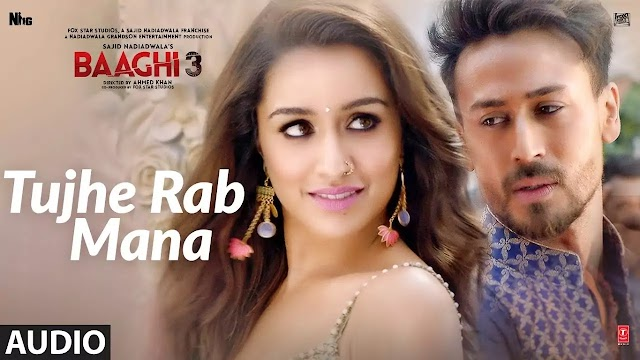Tujhe Rab Mana Lyrics - Baaghi 3 - Lyrics And Reviews