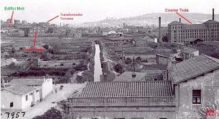 Curso del Canal de la Infanta por Sant Josep