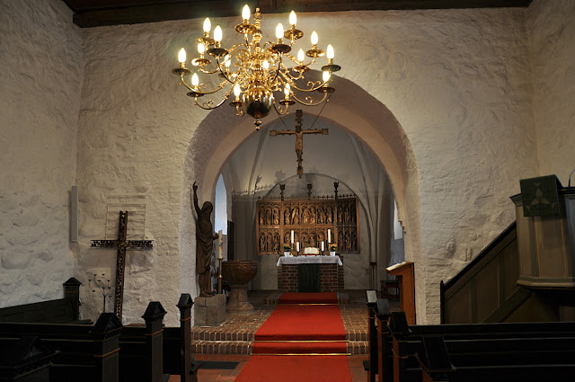 późnoromański kościoł w Hedeby/Haithabu