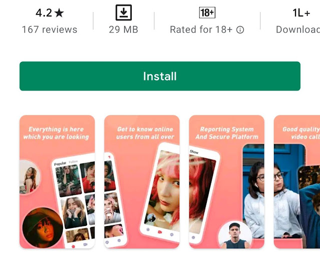 LockU Pro - Video Chat & Make Friends App Review in Hindi