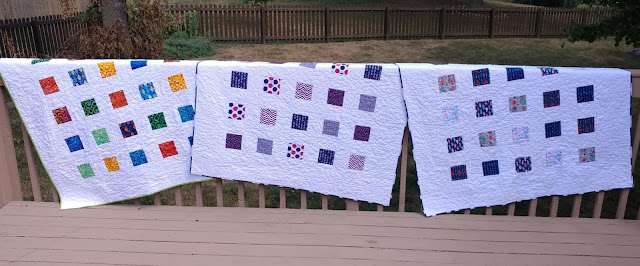 Charity quilts for foster teens