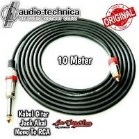 Kabel Gitar 10 Meter Jack Akai Mono To RCA