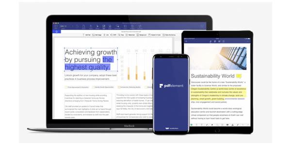 PDFelement: um aplicativo essencial para editar, assinar e anotar todos os seus documentos