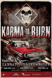 Karma To Burn, 1000mods @ Thessaloniki, 17/12/2011